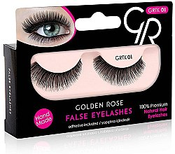 Profumi e cosmetici Ciglia finte - Golden Rose False Eyelashes