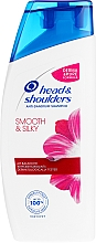 "Profumi e cosmetici Shampoo 2 in 1 antiforfora ""Lisci e setosi"" - Head & Shoulders 2 in 1 Smooth & Silky"