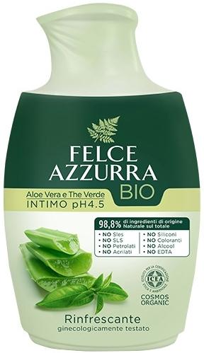 Sapone liquido per l'igiene intima - Felce Azzurra BIO Aloe Vera&Green Tea