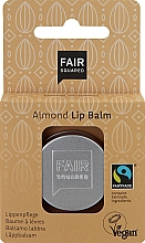 """Profumi e cosmetici Balsamo labbra """"Mandorla"""" - Fair Squared Lip Balm Almond"""