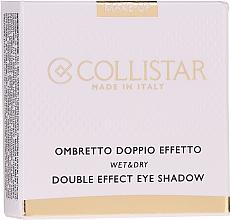 Profumi e cosmetici Ombretto doppio effetto - Collistar Double Effect Eye-Shadow Wet & Dry