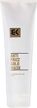 Profumi e cosmetici Maschera per capelli danneggiati - Brazil Keratin Anti Frizz Gold Mask