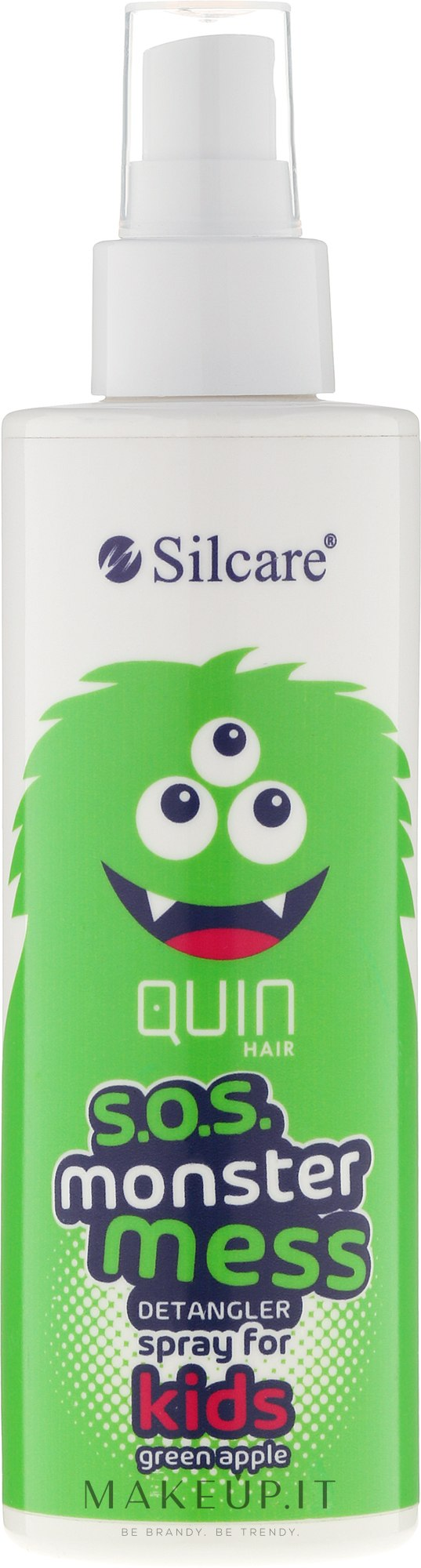 Spray per capelli - Silcare Quin S.O.S. Monster Mess Kids Hair Spray — foto 200 ml