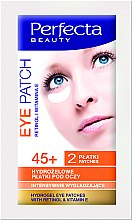 Profumi e cosmetici Patch di idrogel, contorno occhi - DAX Perfecta Eye Patch 45+