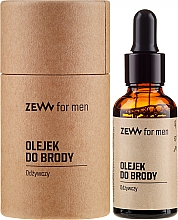 Profumi e cosmetici Olio da barba nutriente - Zew For Men Nourishing Beard Oil