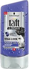 Profumi e cosmetici Gel capelli - Schwarzkopf Taft Looks Titan Look Extreme Gel Radically Strong