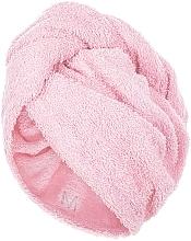 Profumi e cosmetici Asciugamano turbante, rosa chiaro - MakeUp