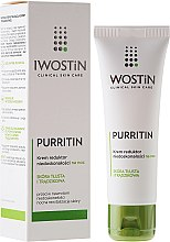 Profumi e cosmetici Crema anti imperfezioni - Iwostin Purritin Reducing Imperfections Night Cream