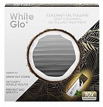 Profumi e cosmetici Trattamento sbiancante - White Glo Coconut Oil Pulling