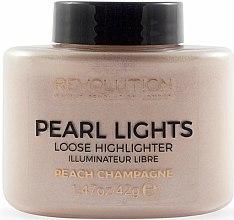 Profumi e cosmetici Illuminante viso - Makeup Revolution Pearl Lights Loose Highlighter