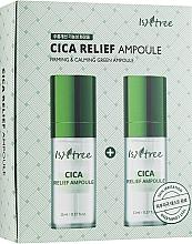 Profumi e cosmetici Fiala rivitalizzante - IsNtree Cica Relief Ampoule