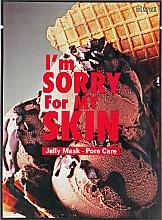 Profumi e cosmetici Maschera viso in tessuto - Ultru I'm Sorry For My Skin Pore Care Mask