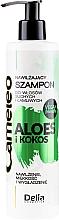 Profumi e cosmetici Shampoo - Delia Cameleo Aloe And Coconut Moisturizing Shampoo