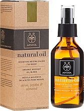 Profumi e cosmetici Composizione di oli naturali - Apivita Organic oil blend