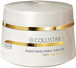 Profumi e cosmetici Maschera capelli - Collistar Oleo-Maschera Sublime