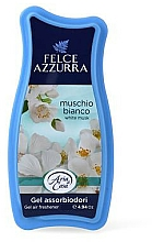 Profumi e cosmetici Gel assorbiodori - Felce Azzurra Gel Air Freshener White Musk