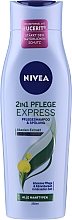 Profumi e cosmetici Shampoo-balsamo 2 in 1 con estratto di acacia - Nivea Hair Care 2 in 1 Express Shampoo & Conditioner Acacia Extract