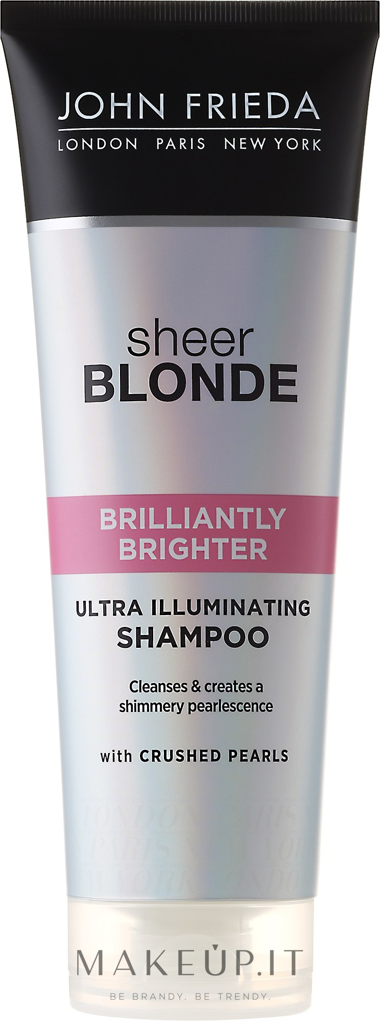Shampoo per lucidare capelli biondi - John Frieda Sheer Blonde Brilliantly Brighter Shampoo — foto 250 ml