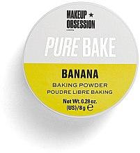 """Profumi e cosmetici Cipria """"Banana Powder"""" - Makeup Obsession Pure Bake Baking Powder Banana"""