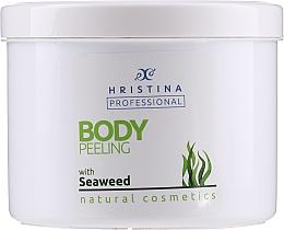 "Profumi e cosmetici Scrub corpo ""Alghe"" - Hristina Professional Seaweed Body Peeling"