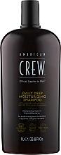Profumi e cosmetici Shampoo idratante - American Crew Daily Deep Moisturizing Shampoo