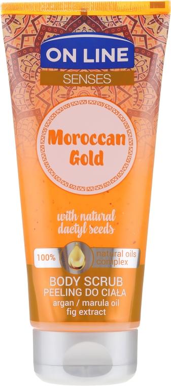 Scrub corpo - On Line Senses Body Scrub Moroccan Gold