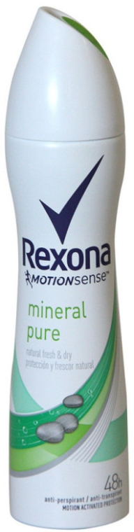 Deodorante spray - Rexona Mineral Pure — foto N1