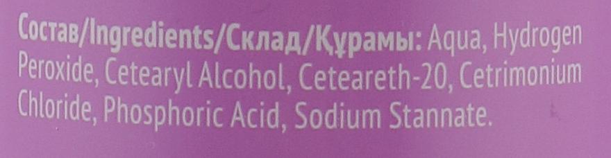 Ossidante 6% - Estel Professional Only Oxigent — foto N3