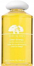 Profumi e cosmetici Olio energetico detergente per il viso - Origins Clean Energy Gentle Cleansing Oil