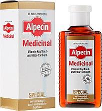 Profumi e cosmetici Tonico per cuoio capelluto sensibile - Alpecin Medicinal Special Vitamin Scalp And Hair Tonic