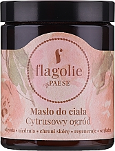 "Profumi e cosmetici Burro corpo ""Citrus Garden"" - Flagolie by Paese Citrus Garden"