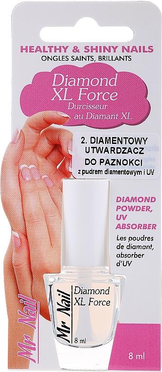 Indurente per unghie con polvere di diamante e filtro UV - Art de Lautrec Mr Nail Diamond Xl Force