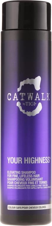 Shampoo volumizzante - Tigi Catwalk Your Highness Elevating Shampoo