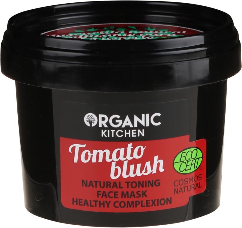 "Maschera viso tonificante naturale ""Blush al pomodoro"" - Organic Shop Organic Kitchen Fase Mask"