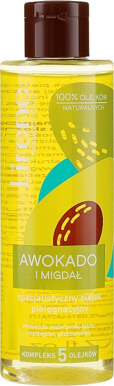 "Olio corpo nutriente ""Avocado e mandorle"" - Lirene Dermo Program Body Butter"