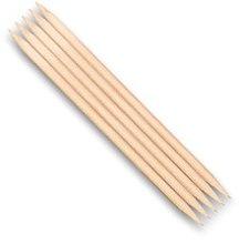 Profumi e cosmetici Bastoncini in legno per manicure, 5 pz, 7040 - Top Choice