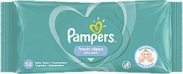 "Profumi e cosmetici Salviettine umidificate per bambini ""Baby Fresh Clean"", 52 pz - Pampers"