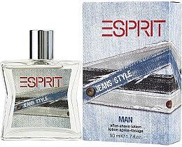 Profumi e cosmetici Esprit Jeans Style Man - Lozione dopobarba
