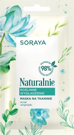 Maschera in tessuto levigante - Soraya Naturalnie Mask