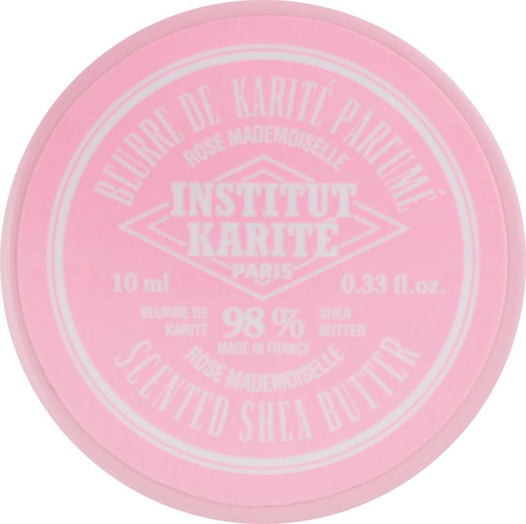 Burro di karitè con rosa 98% - Institut Karite Rose Mademoiselle Scented Shea Butter