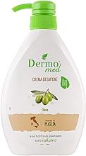 """Profumi e cosmetici Sapone """"Oliva"""" - Dermomed Oliva Cream Soap"""