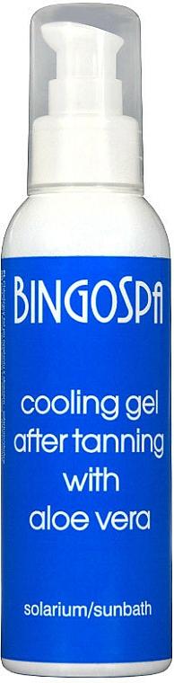 Gel rinfrescante doposole con aloe vera - BingoSpa Cooling Gel — foto N1