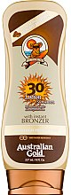 Profumi e cosmetici Lozione solare abbronzante - Australian Gold Lotion With Instant Bronzer Spf30