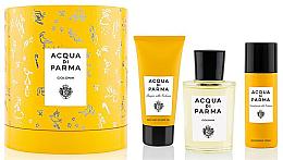 Profumi e cosmetici Acqua Di Parma Colonia - Set (edc/100ml + sh/gel/75ml + deo/50ml)