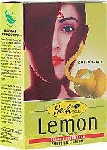 Profumi e cosmetici Maschera tonificante viso - Hesh Lemon Peel Powder