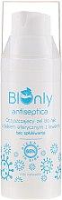 Profumi e cosmetici Gel mani antibatterico con olio essenziale di lavanda - BIOnly Antiseptica Antibacterial Gel