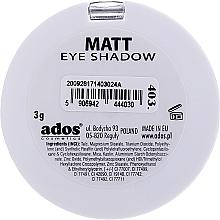Ombretto opaco - Ados Matt Effect Eye Shadow — foto N2