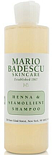 Profumi e cosmetici Shampoo per tutti i tipi di capelli - Mario Badescu Henna & Seamollient Shampoo