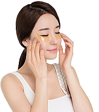 Patch occhi in idrogel, oro - Kocostar Princess Eye Patch Gold — foto N3