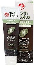 Profumi e cosmetici Dentifricio sbiancante nero con carbone di bambù - Twin Lotus Herbaliste Active Charcoal Toothpaste